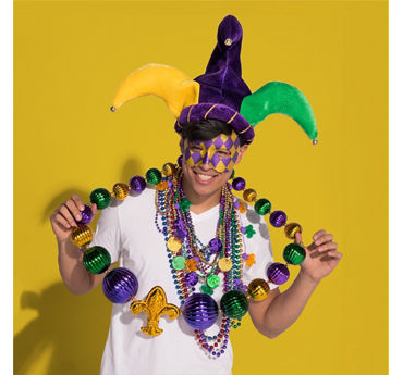 Mardi Gras Unique Beaded Necklaces Idea