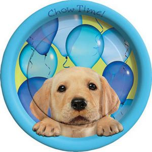 Party Pups Lunch Plates 8ct