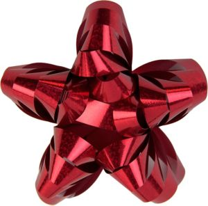 Prismatic Red Star Gift Bow