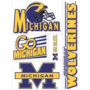 Michigan Wolverines Decals 5ct