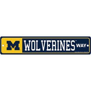 Michigan Wolverines Street Sign