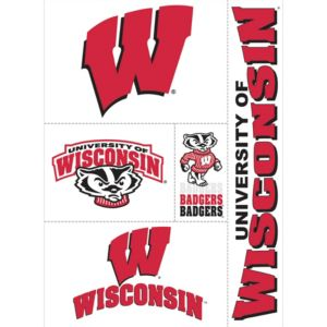 Wisconsin Badgers Decals 5ct