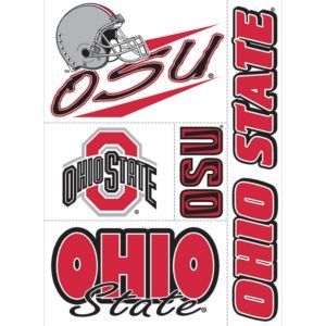 Ohio State Buckeyes Decal Cling 11in X 17in