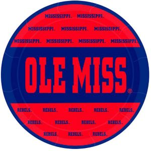 Ole Miss Rebels Lunch Plates 8ct