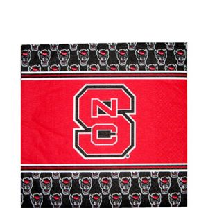 North Carolina State Wolfpack Lunch Napkins 20ct