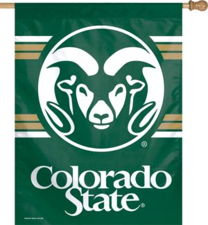 Colorado State Rams Banner Flag