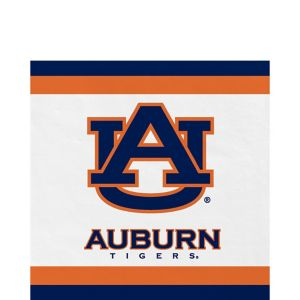 Auburn Tigers Lunch Napkins 20ct