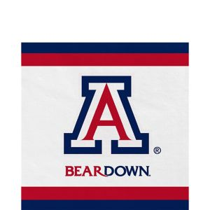 Arizona Wildcats Lunch Napkins 20ct