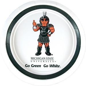 Michigan State Spartans Lunch Plates 10ct