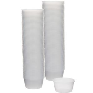 CLEAR Plastic Portion Cups 2oz 250ct
