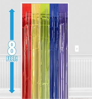 Multicolor Doorway Curtain