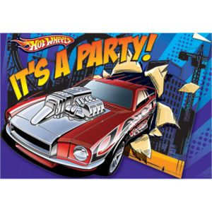 Hot Wheels Invitations 8ct