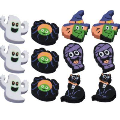 Halloween Erasers 12ct