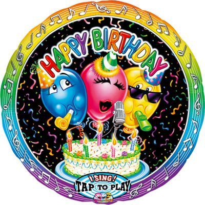 Singing Happy Birthday Balloon