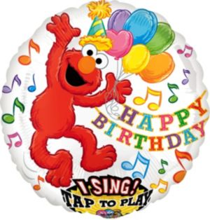 Elmo Balloon - Singing