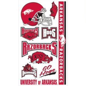 Arkansas Razorbacks Tattoos 10ct