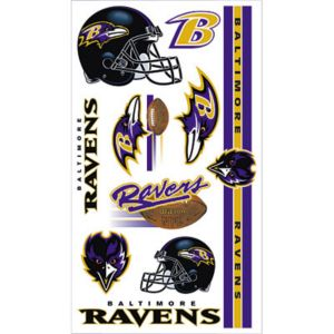 Baltimore Ravens Tattoos 10ct