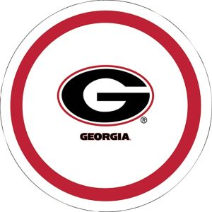 Georgia Bulldogs Lunch Plates 10ct
