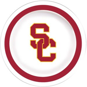 USC Trojans Lunch Plates 10ct