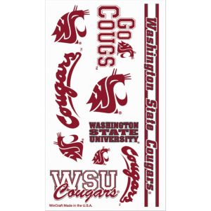 Washington State Cougars Tattoos 7ct
