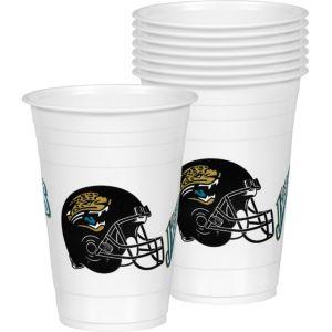 Jacksonville Jaguars Plastic Cups 24ct