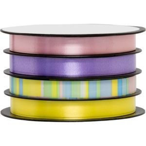 Pastel Curling Ribbons 4ct