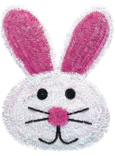 Deluxe Tinsel Easter Bunny