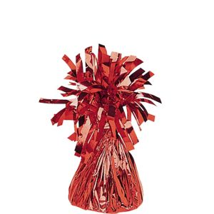 Red Foil Balloon Weight 6oz