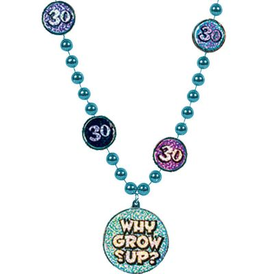 30th Birthday Bead Necklace