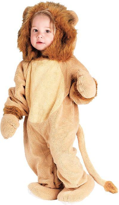 Baby Cuddly Lion Costume