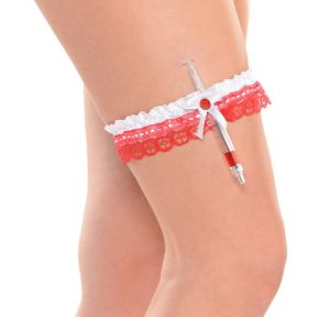 Hospital Honey Leg Garter with Hypodermic
