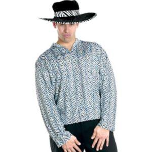 Adult Silver Pimp Shirt