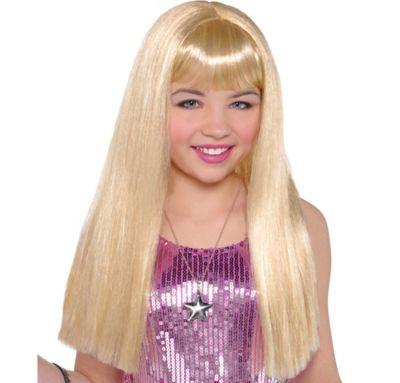 Child Hannah Montana Wig