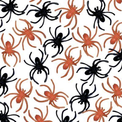 Black and Orange Spider Rings 125ct