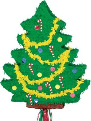 Pull String Christmas Tree Pinata