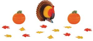Thanksgiving Table Decorating Kit 15pc