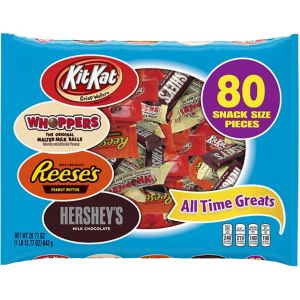 Hershey's All Time Greats Snack Size Chocolates 80pc