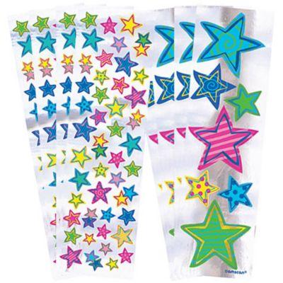 Splashy Star Stickers 8 Sheets