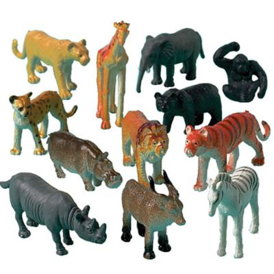 Jungle Animals 12ct Party City