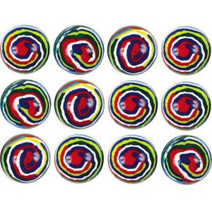 Swirl Bounce Balls 12ct