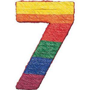 Number 7 Pinata 21in