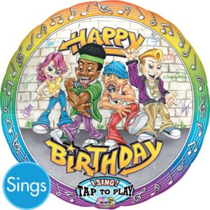 Happy Birthday Balloon - Singing Rappers