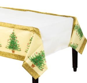 Victorian Christmas Tree Table Cover