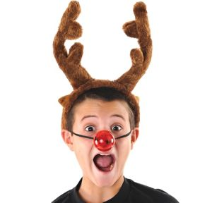Light-Up Reindeer Nose