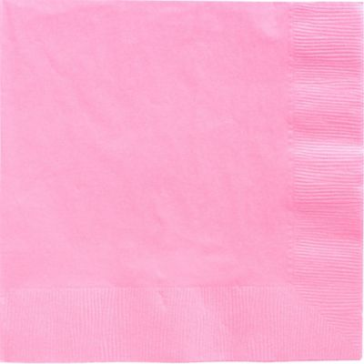 Pink Dinner Napkins 20ct