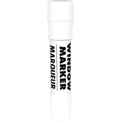 White Window Marker 4 1/2in