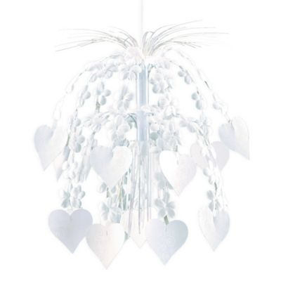 Flower & Hearts Hanging Cascade Decoration