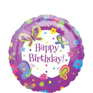 Butterfly Birthday Balloon