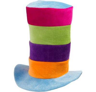 Tall Striped Party Hat