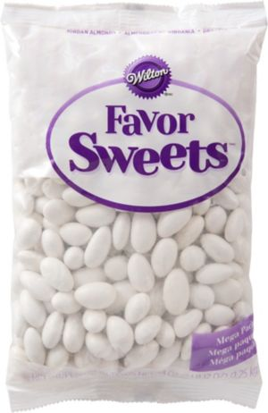 White Jordan Almonds 44oz